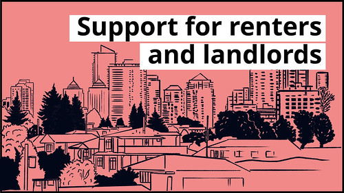 Supporting renters, landlords during COVID-19