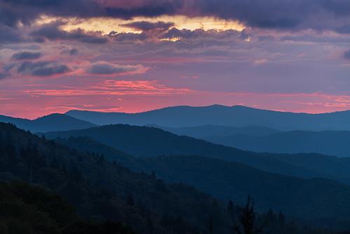 Smoky Mountains sunrise