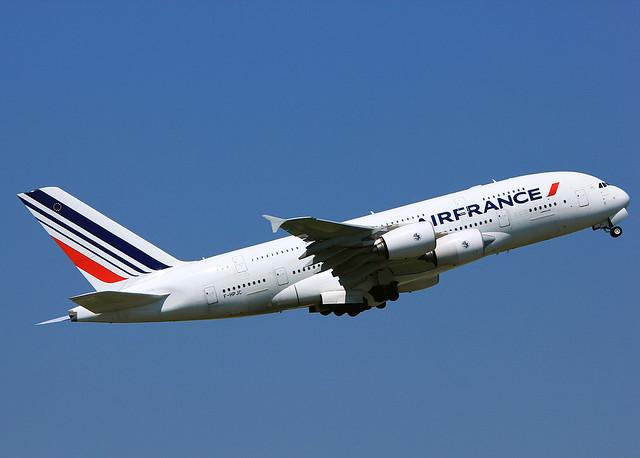 F-HPJC Airbus A380 Air France