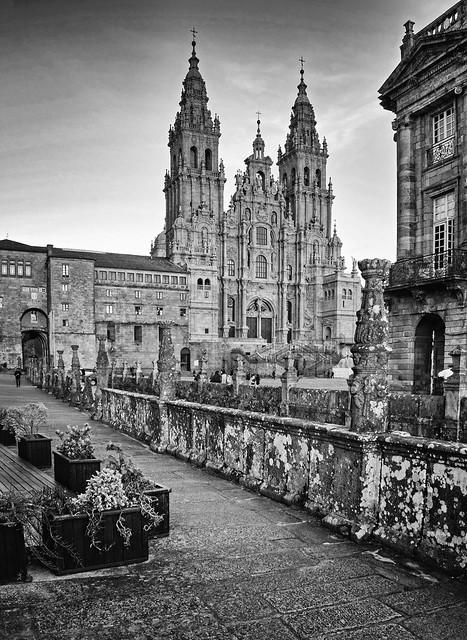 Plaza y fachada del Obradoiro, Santiago de Compostela