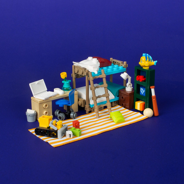 LEGO room house