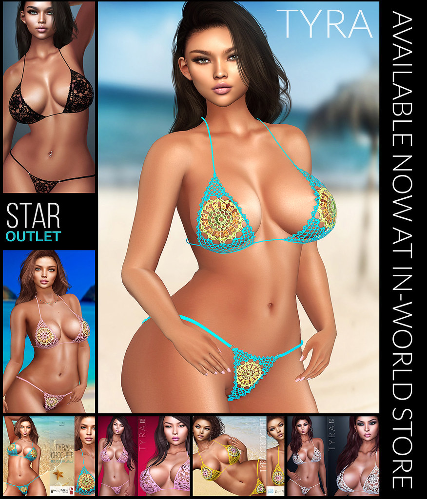 Tyra Crochet Bikini – At In-world store NOW