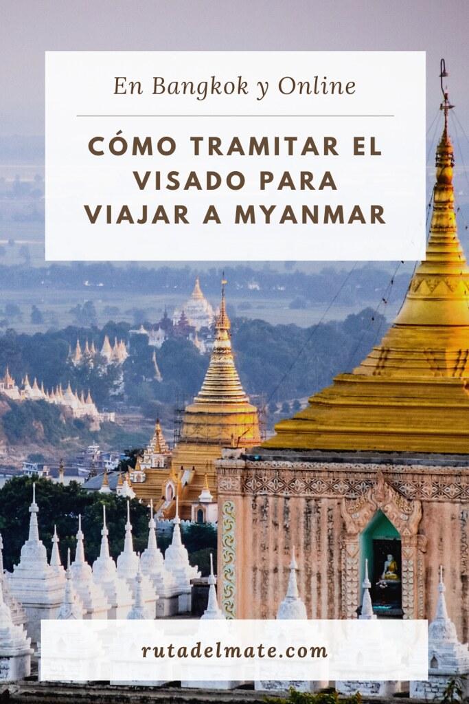 Cómo tramitar el visado de Myanmar en Bangkok y Online