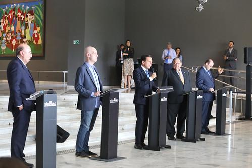 O Governador do Estado de São Paulo João Doria durante entrevista coletiva de imprensa sobre o Coronavírus. Dia: 25/03/2020 Local: São Paulo/SP Foto: Governo do Estado de São Paulo/SP