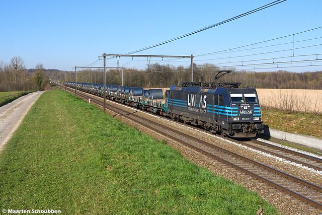 Lineas 186 293-7 @ s'Herenelderen