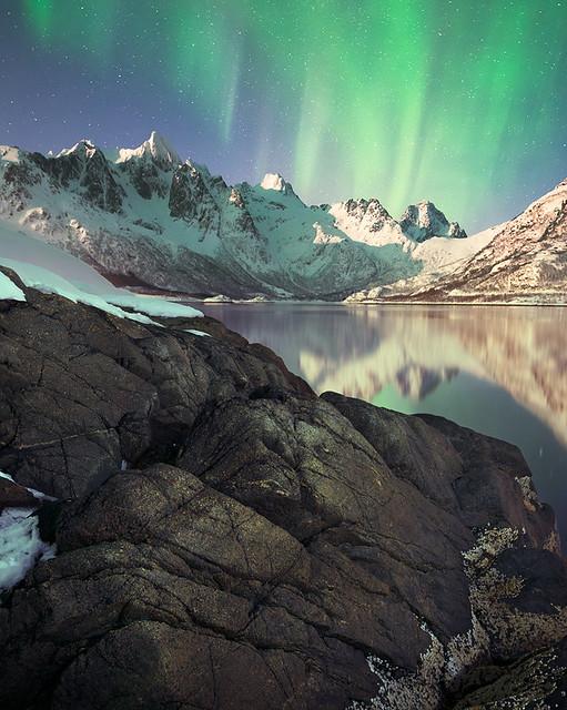 Aurora in Lofoten Islands