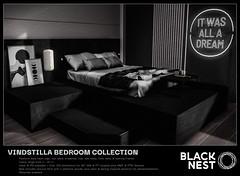 BLACK NEST / Vindstilla Bedroom Collection / Uber