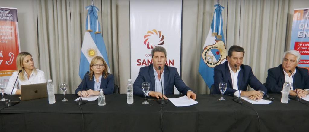 Uñac anunció medidas económicas y sociales para los sectores más afectados por los efectos de la pandemia