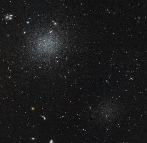 NGC1052-DF4 & DF5 | by geckzilla