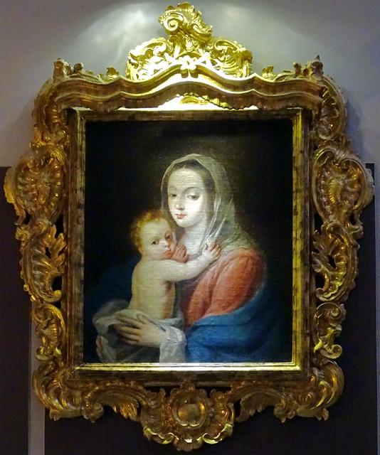 pintura Virgen el Niño Catedral de Jerez de la Frontera Cadiz 02