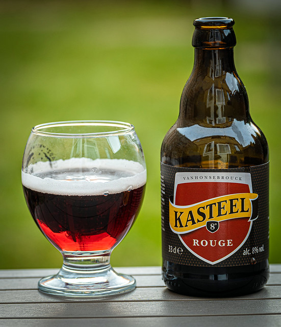 A Glass of Kasteel Rouge ( An 8% Red Fruit Beer) (Panasonic Lumix S1 & Lumix S 70-200mm f4 Zoom) (1 of 1)
