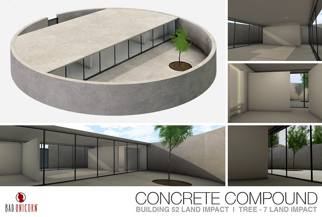 OUT NOW! Concrete Compound @ Uber