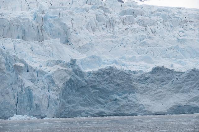 Glacier face, Svalbard