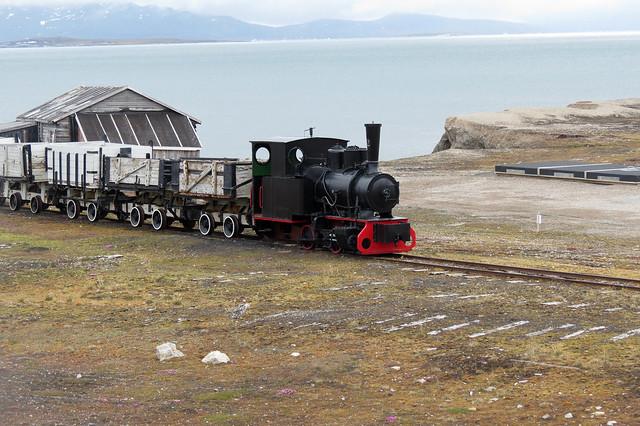 Train at Ny-Ålesund