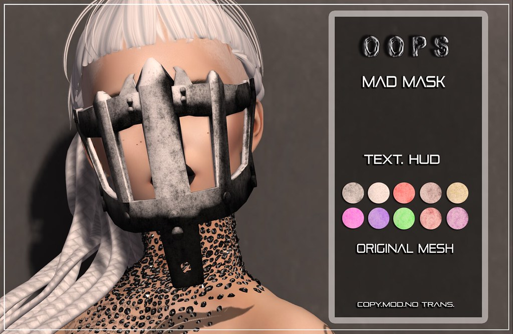 ::OOPS:: Madness Mask