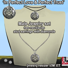 In Perfect Love & Perfect Trust Male