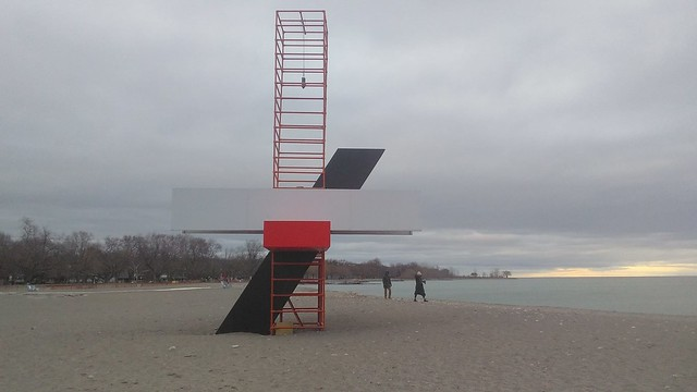 Kaleidoscope of the Senses (2) #toronto #woodbinebeach #winterstations #publicart #kaleidoscopeofthesenses #latergram