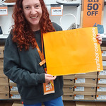 Thanks Courtney for showcasing your paper bags!  Check them out in Queensgate Mall. #nzbagban