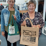 Check out these gorgeous bags!  Thanks to the team at NZ Souvenirs Levin. #nzbagban
