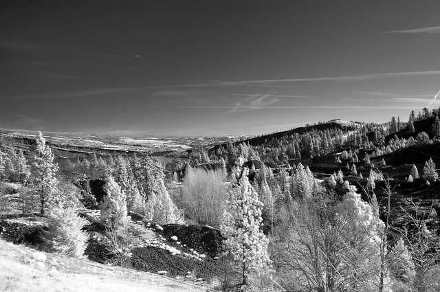Looking Over Mosier from the HCRH Trail, Infrared