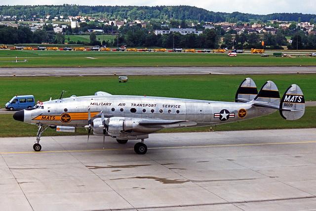 MATS Lockheed C-121A Constellation N494TW