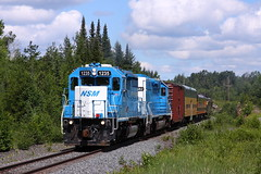 Blue 1235 leading a PX