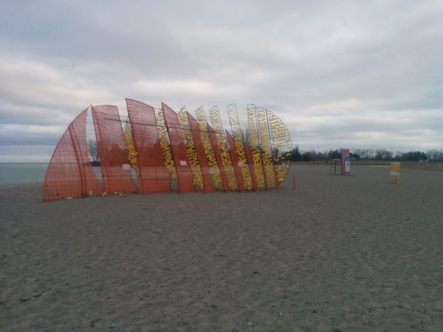 Mirage (1) #toronto #woodbinebeach #winterstations #mirage #publicart #latergram