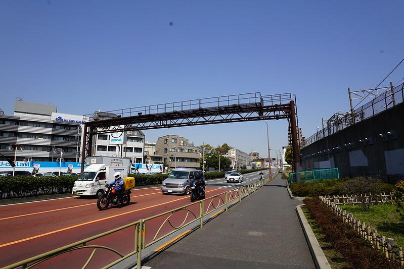 121東京いい道しぶい道池上道第二京浜を西馬込駅へ
