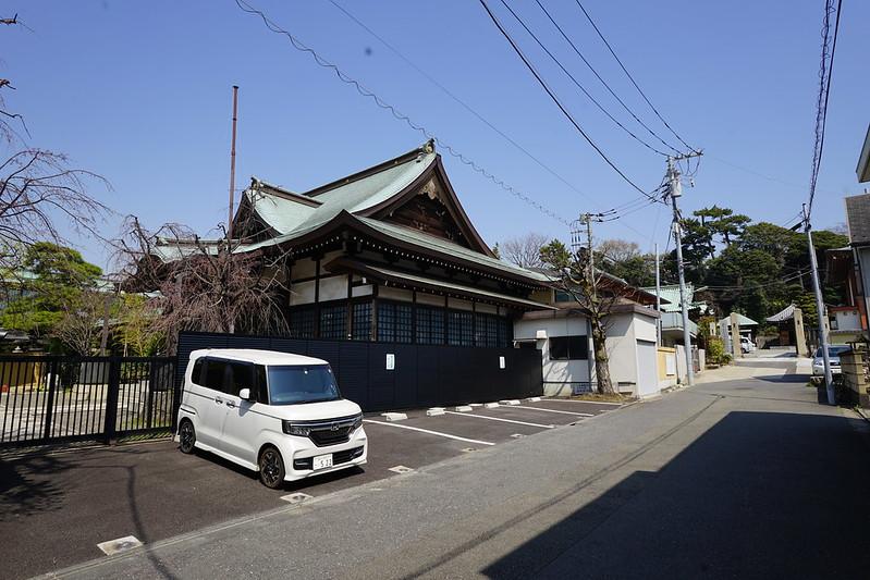 107東京いい道しぶい道池上道實相寺