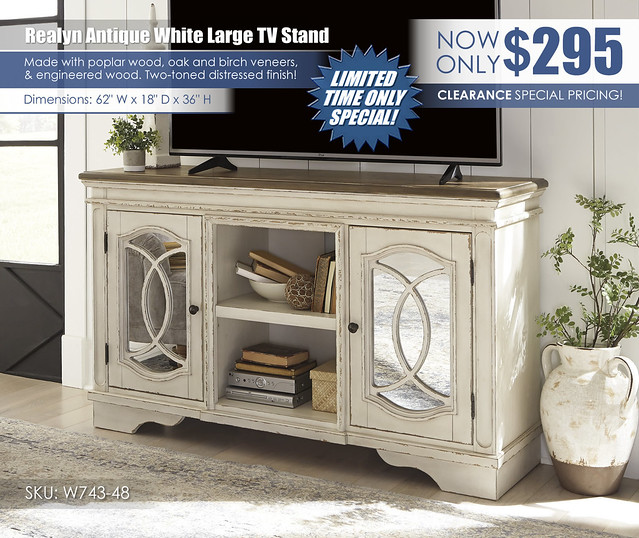 Realyn Large TV Stand_Clearance_W743-48