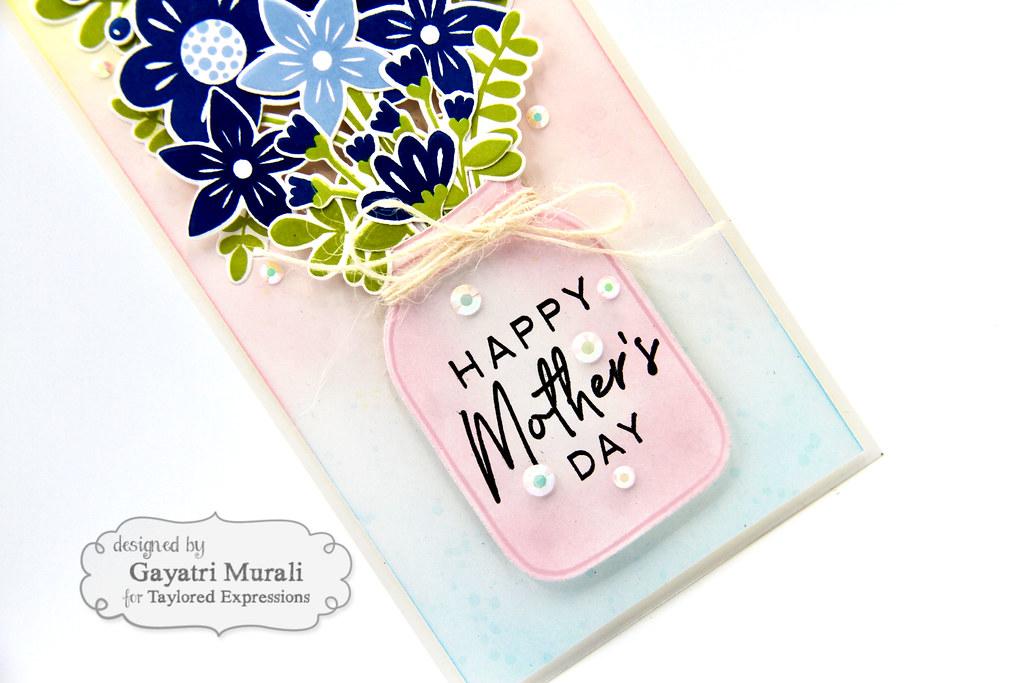 Gayatri - Bouquet Whimsy Card closeup2