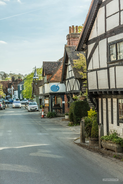 Middle Street, in the charming village of Shere, in Surrey.