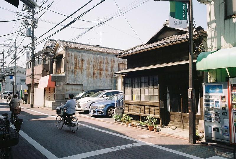 2−12GR1s+ColorPlus200東京いい道しぶい道池上道入り口の旧商家