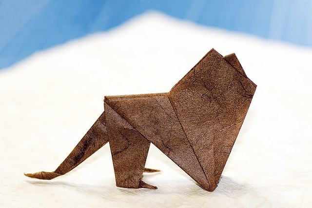 Origami Lion (James Sakoda)