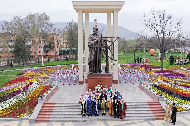 Ифтитоҳи Боғи Абӯмаҳмуди Хуҷандӣ дар шаҳри Хуҷанд   26.03.2020