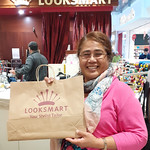 Proud business owner, Melesete says paper is the way to go at Queensgate! #nzbagban, #looksmart