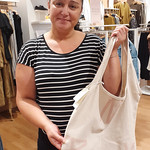 Max are all about sustainability, from their fabric, to their clothes tags.  Thanks Katerina for sharing the passion for sustainability, and your cloth bag! #nzbagban, #maxdoitright