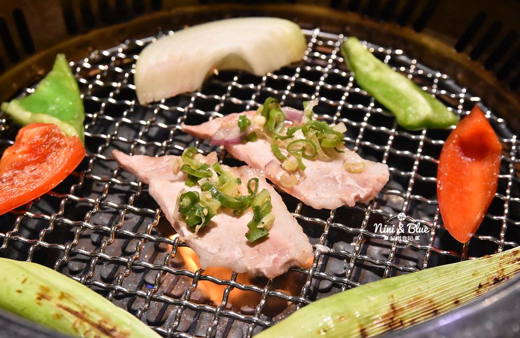 台中公益路燒肉推薦 一頭牛燒肉 菜單38