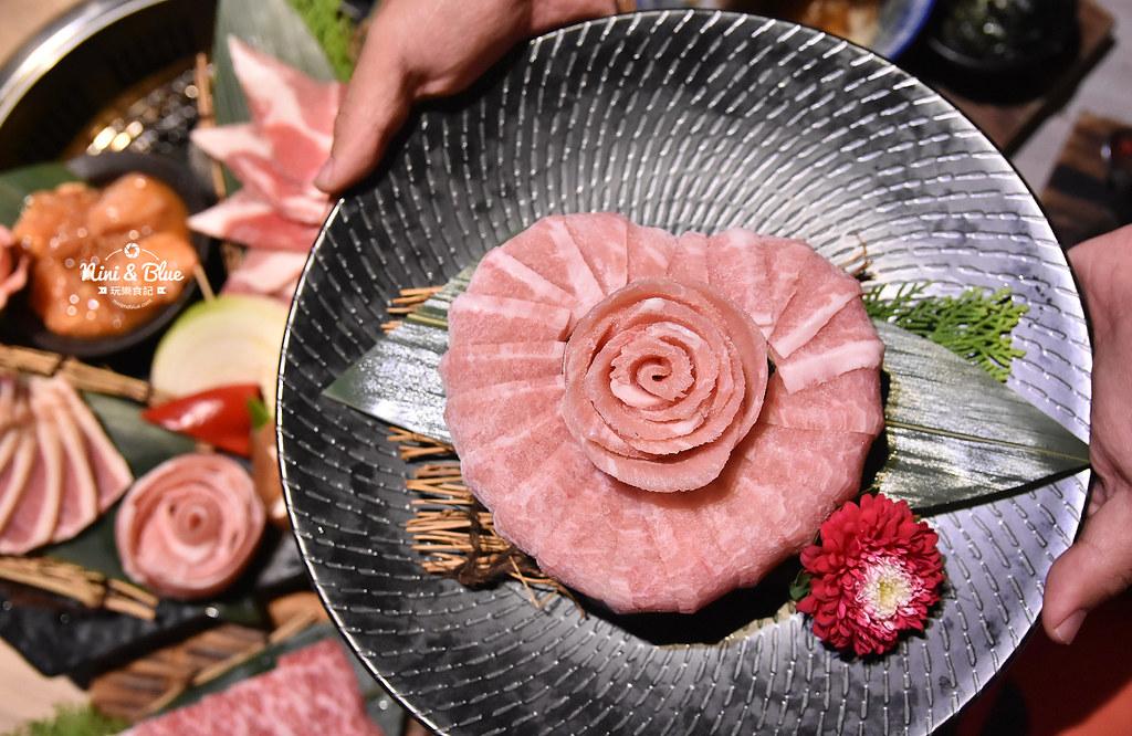 台中公益路燒肉推薦 一頭牛燒肉 菜單22