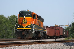 BNSF Allouez Switch in 2008