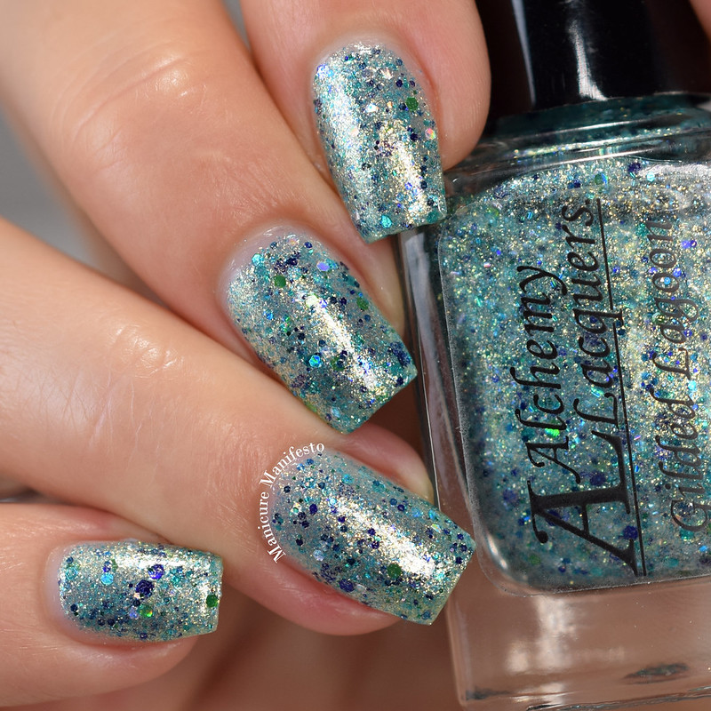 Alchemy Lacquers Gilded Lagoon review