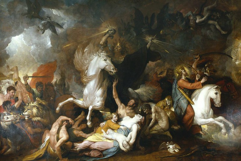 Benjamin West - Death on the Pale Horse, 1817