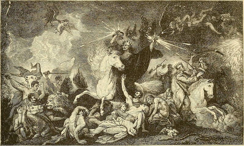 After Benjamin West - Death on the Pale Horse, 1880