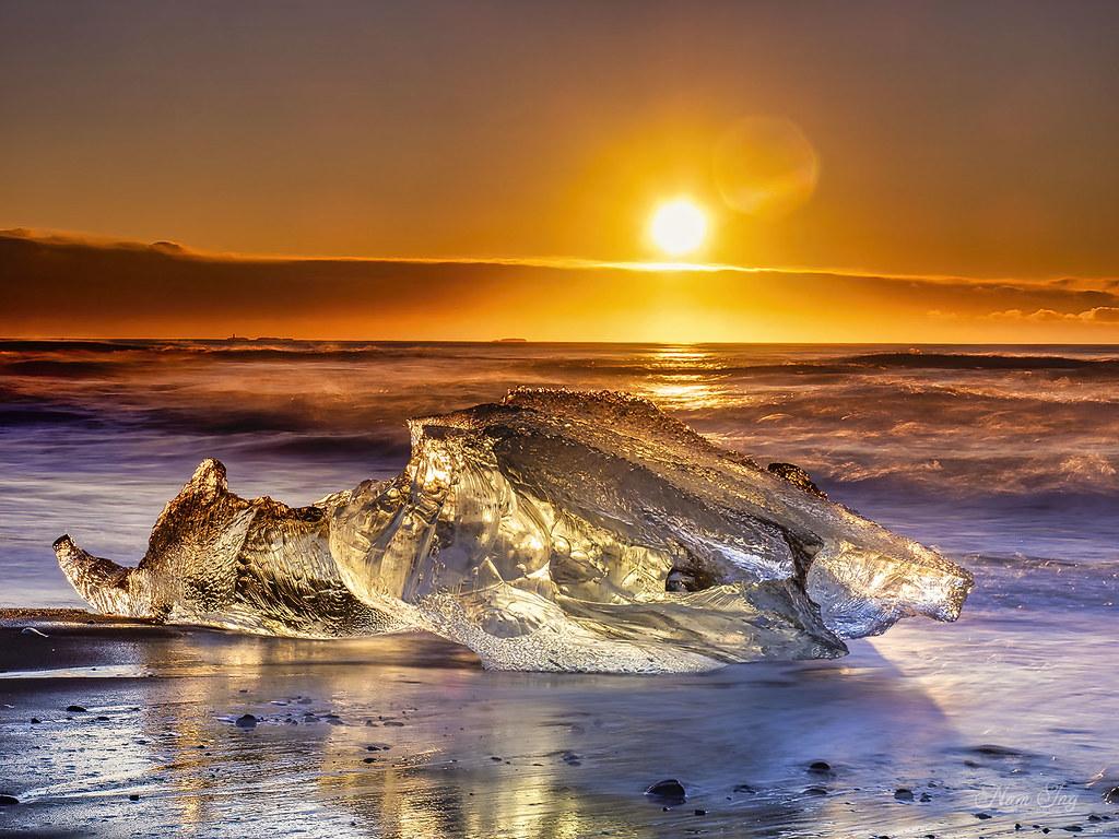 [04] Jökulsárlón - Diamond Beach - Islande 49699624271_02ac101a30_b