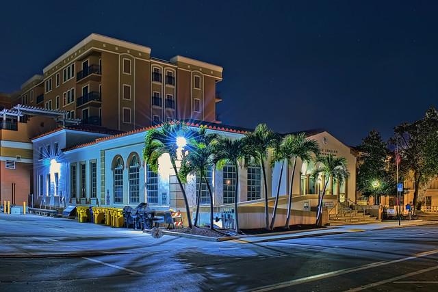 Lake Worth Beach Public Library, 15 N M Street, Lake Worth Beach, Florida, USA / Built: 1941 / Architect: Edgar S. Wortman  / Floors: 2 / Total Square Footage: 8764 / Architectural Style: Mediterranean Revival