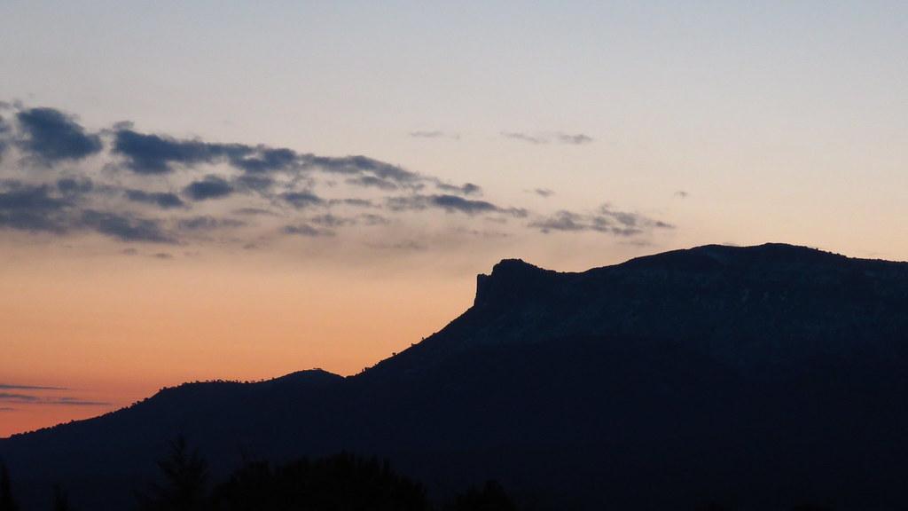 Le reveil des montagnes enneigées 26mars2020