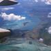 Le sud-ouest de Maurice vu d'avion