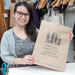 Laura is happy to be using paper bags as part of their sustainability initiatives. #nzbagban