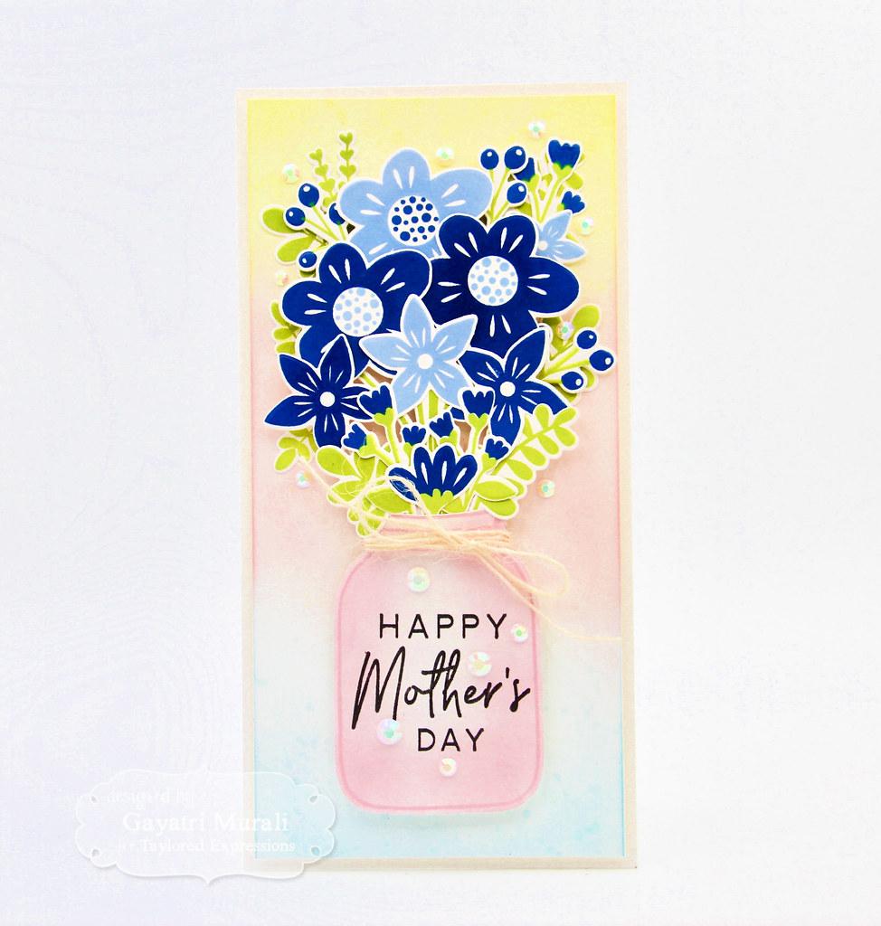Gayatri - Bouquet Whimsy Card