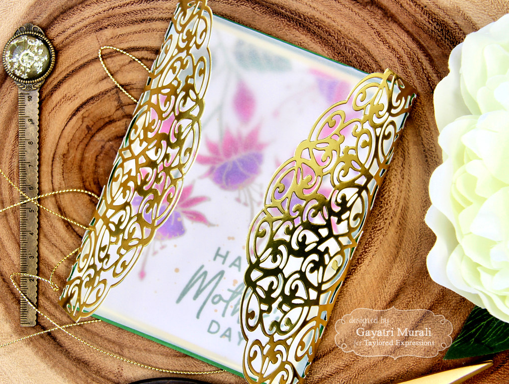 Gayatri Baroque Die card closeup